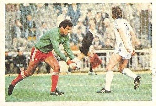 Liga 80-81. Peter Shilton (Nottingham Forest). Ediciones Este.
