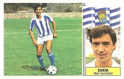 Liga 86-87. Sukía (Real Sociedad). Ediciones Este.