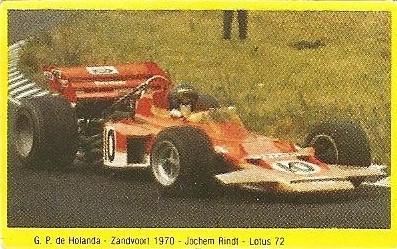 Grand Prix Ford 1982 . Jochen Rindt (Lotus). (Editorial Danone).