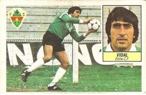 Liga 84-85. Vidal (Elche C.F.). Ediciones Este.