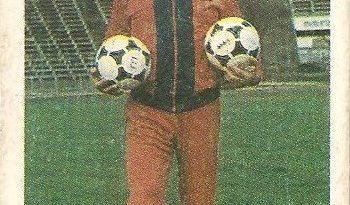 Eurocopa 1984. Fernando Cabrita (Portugal). Editorial Fans Colección.