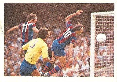 Liga 80-81. Asensi (F.C. Barcelona) Futbolistas en Acción Nº 41. Ediciones Este.