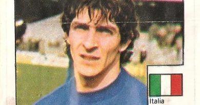 Super Cromos Los Mejores del Mundo (1981). Rossi (Italia). Chicle Fútbol Boomer.