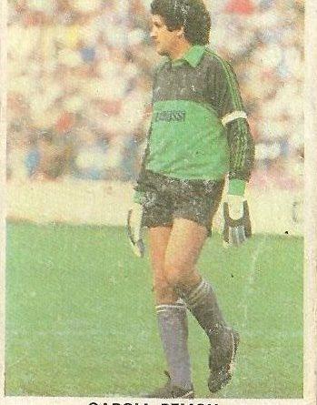 Fútbol 84. Cromos Cano.