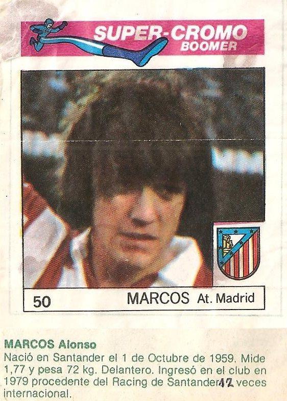 Super Cromos Los Mejores del Mundo. (1981). Chicle Fútbol Boomer ...