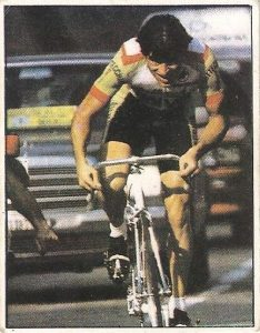 1983. Vuelta Ciclista - Ases Internacionales del Pedal. Daniel Gisiger (Suiza). (Editorial J. Merchante - Chocolates Hueso).