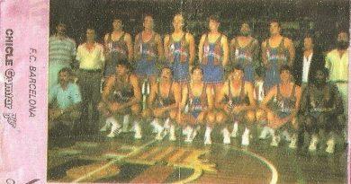 Liga Baloncesto 1985-1986. Chicle Gumtar.