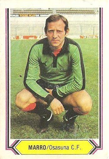 Liga 80-81. Marro (Club Atlético Osasuna). Ediciones Este.