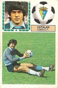 Liga 83-84. Catalán (Cádiz CF). Ediciones Este.