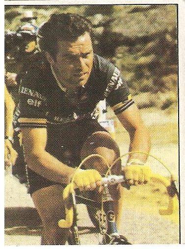 1983. Vuelta Ciclista - Ases Internacionales del Pedal. Bernard Hinault (Francia). (Editorial J. Merchante - Chocolates Hueso).