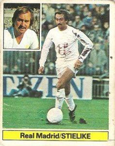 Liga 81-82. Stielike (Real Madrid). Ediciones Este.
