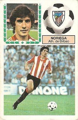 Liga 83-84. Noriega (Ath. Bilbao). Ediciones Este.