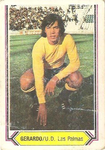 Liga 80-81. Gerardo (U.D. Las Palmas). Ediciones Este.