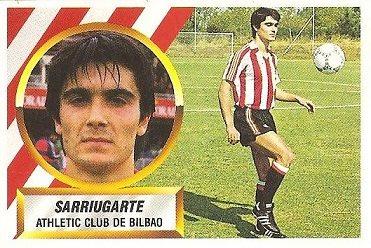 Liga 88-89. Sarriugarte (Ath. Bilbao). Ediciones Este.