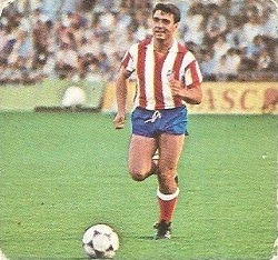 Liga 82-83. Julio Prieto (At. Madrid). Ediciones Este.