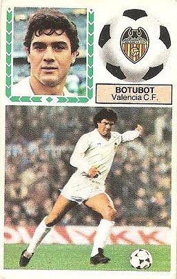 Liga 83-84. Botutot (Valencia C.F.). Ediciones Este.