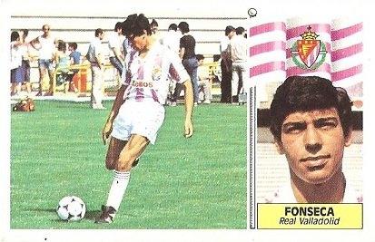 Liga 86-87. Fonseca (Real Valladolid). Ediciones Este.