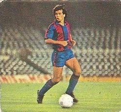 Liga 82-83. Gerardo (F.C. Barcelona). Ediciones Este.
