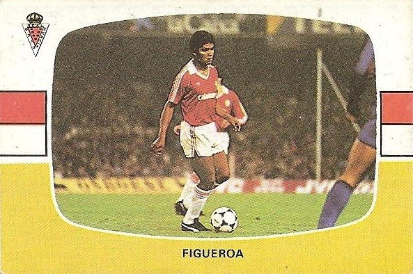Liga 84-85. Figueroa (Real Murcia). Cromos Cano.