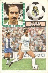 Liga 83-84. Stielike (Real Madrid). Ediciones Este.