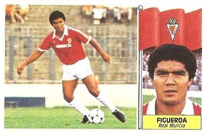 Liga 86-87. Figueroa (Real Murcia). Ediciones Este.