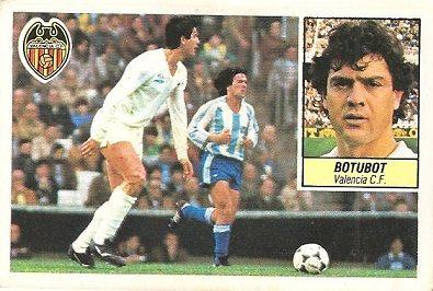 Liga 84-85. Botubot (Valencia C.F.). Ediciones Este.