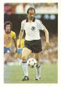 Eurocopa 1984. Stielike (Alemania Federal) Editorial Fans Colección.
