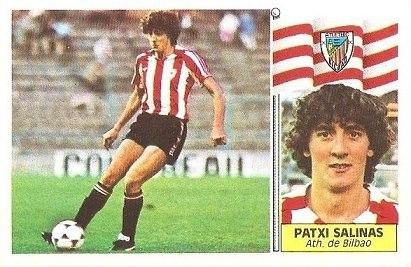 Liga 86-87. Patxi Salinas (Ath. Bilbao). Ediciones Este.