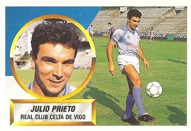 Liga 88-89. Julio Prieto (Real Club Celta de Vigo). Ediciones Este.