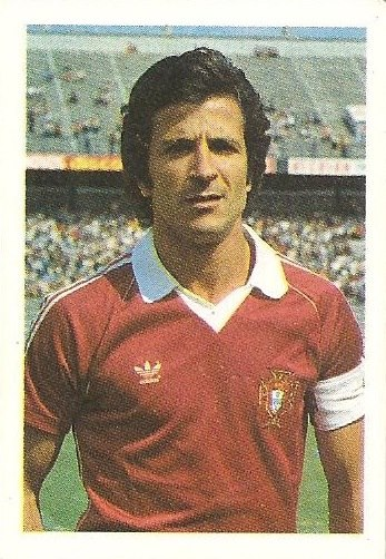 Eurocopa 1984. Nene (Portugal) Editorial Fans Colección.