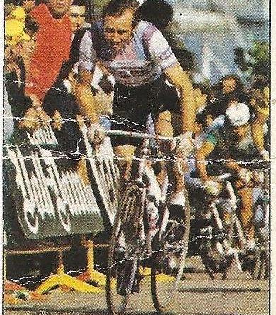 1983. Vuelta Ciclista - Ases Internacionales del Pedal. Zoetemelk (Mercier). (Editorial J. Merchante - Chocolates Hueso).