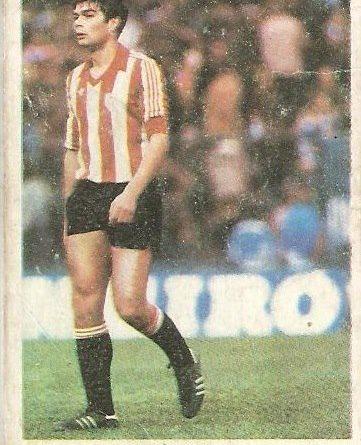 Fútbol 84. Bolaños (Athletic Club de Bilbao). Cromos Cano