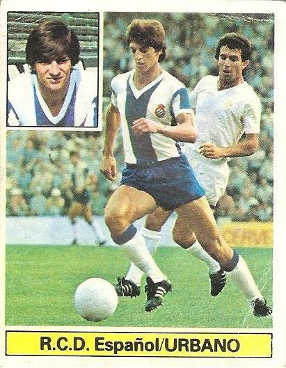 Liga 81-82. Urbano (RCD Español). Ediciones Este.