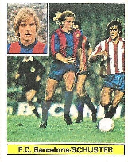 Liga 81-82. Schuster (F.C. Barcelona). Ediciones Este.