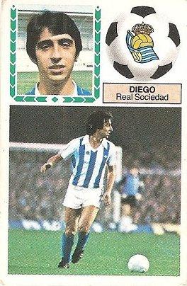 Liga 83-84. Diego (Real Sociedad). Ediciones Este.