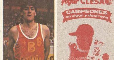 Baloncesto 1984-1985. Arcega (España). Ediciones J. Merchante - Clesa.