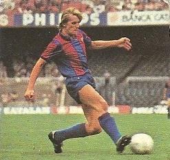 Liga 82-83. Schuster (F.C. Barcelona). Ediciones Este.
