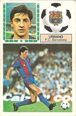 Liga 83-84. Urbano (FC Barcelona). Ediciones Este.