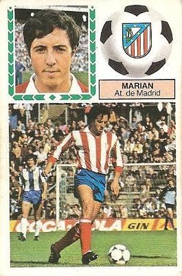 Liga 83-84. Marian (Atlético de Madrid). Ediciones Este.