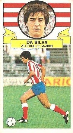 Liga 85-86. Fichaje Nº 34 Da Silva (Atlético de Madrid). Ediciones Este.
