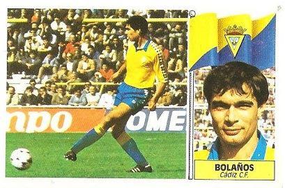 Liga 86-87. Bolaños (Cádiz C.F.) Ediciones Este.