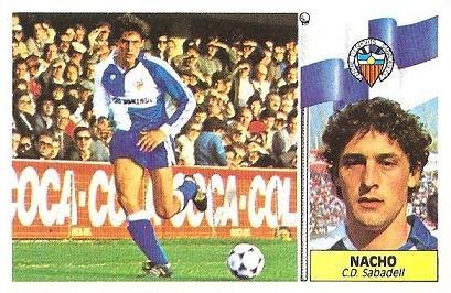 Liga 86-87. Nacho (Centro de Deportes Sabadell). Ediciones Este.