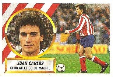 Liga 88-89. Juan Carlos (Atlético de Madrid). Ediciones Este.