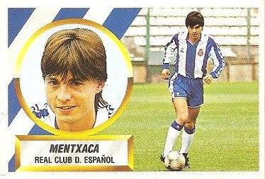 Liga 88-89. Menchaca (R.C.D. Español). Ediciones Este.
