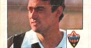 Super Cromos Los Mejores del Mundo (1981). Planelles (C.D. Castellón). Chicle Fútbol Boomer.