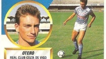 Liga 88-89. Otero (Real Club Celta de Vigo). Ediciones Este.