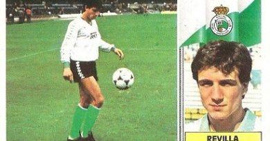 Liga 86-87. Revilla (Racing de Santander). Ediciones Este.