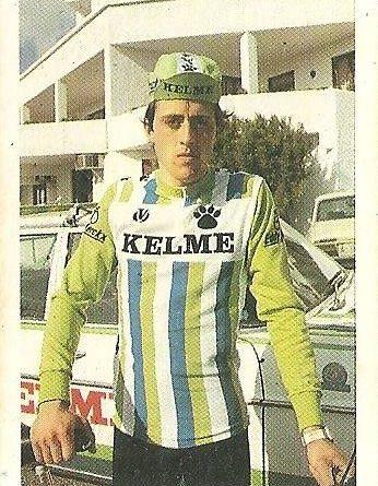 Trideporte 84. Antonio Esparza (Kelme). Editorial Fher.
