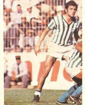 Liga 80-81. Gordillo (Real Betis) Futbolistas en Acción Nº 22. Ediciones Este.