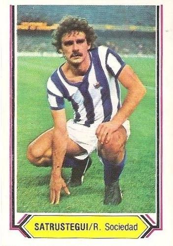 Liga 80-81. Satrustegui (Real Sociedad). Ediciones Este.